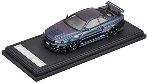 TK.Company Ignition Model 1/43 NISMO R34 GT-R Z Tune Midnight Purple III Finished Product ()