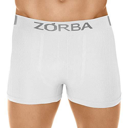 Cueca Boxer Seamless Trendy,Zorba,Masculino,Branco,G