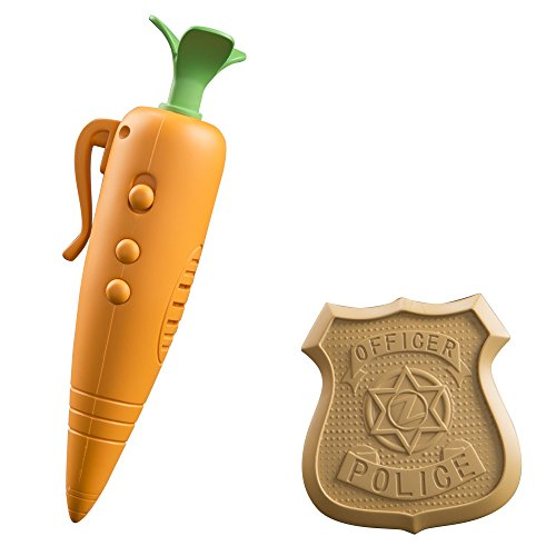 Zootopia Judy's Carrot Recorder And Badge]()
