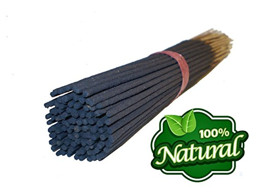 Bless-Frankincense-and-Myrrh 100%-Natural-Incense-Sticks Handmade-Hand-Dipped The-best-woods-scent-100-sticks-pack ()
