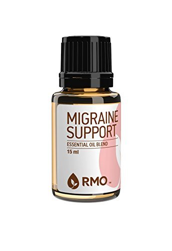 Rocky Mountain Oils - Migraine Support - 15 ml - 100% Pure and Natural Essential Oil Blend (Migraine Headache Support)