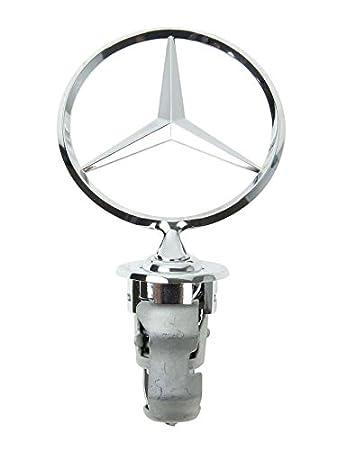 Amazon.com: Insignia de estrella para capó de Mercedes Benz ...