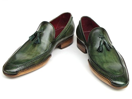 Cousue 082 Flâneur Chaussures La De Main À Côté Hommes Vert Avec Parkman Paul id xOwqI6gYBE