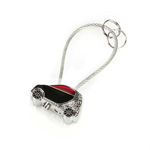 SMART clés auto-rouge/noir