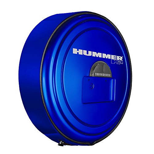 Aries Hummer H2 Stainless Steel - Boomerang Hummer H2 (05-10) - Color Matched MasterSeries Hard Tire Cover - Color Matched Plastic Face & Stainless Steel Ring - (20