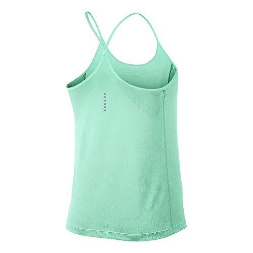 Nike Dry Miler Ladies Running Tanktop Blu Chiaro
