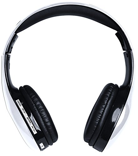 Coby Bluetooth Headphone (Coby CHBT-705-WHT Scope Wireless Stereo Bluetooth Headphones, White)