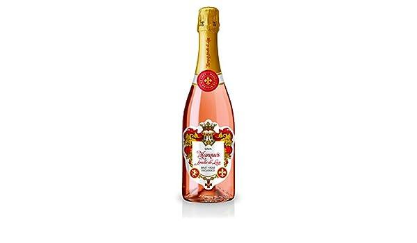 Cava Brut Rosé Ecológico de la prestigiosa bodega Marqués Spuche de Lacy (1 botella): Amazon.es: Alimentación y bebidas