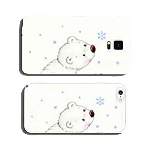 Cute polar bear and penguin cell phone cover case iPhone6 Plus