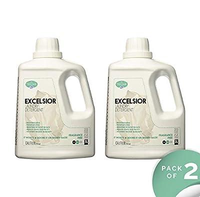 Excelsior SOAPFL3NF-U Liter Laundry Detergent with Eco Bottle, Fragrance Free (2)