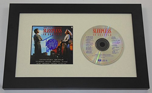 Sleepless in Seattle Tom Hanks Signed Autographed Music Soundtrack Cd Cover Custom Framed Loa