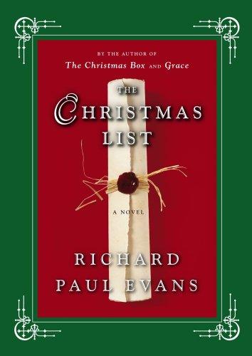 the christmas list a novel by evans richard paul - Amazon Christmas List