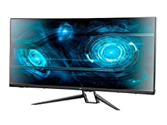 "MP 35in Zero-G Curved FreeSync 2.0 100Hz 1440p UWQHD Gaming Monitor Fill your field of view with this Zero-G 35"" Curved Monitor from Monoprice! The ultrawide 3440x1440p @ 100Hz (UWQHD) maximum resolution gives you more desktop space for more ..."