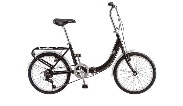 Schwinn Loop - Bicicleta plegable de 50,8 cm, S2280B, negro: Amazon.es: Deportes y aire libre
