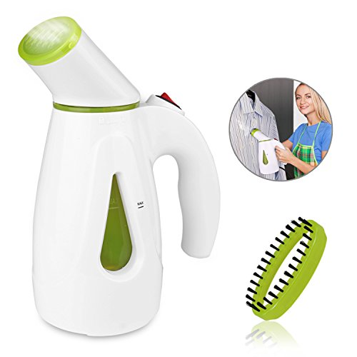 Amazon #LightningDeal 68% claimed: Garment Steamer, Aidodo Portable Fabric Steamer Handheld Garment Steamer for Clothes - 200ML Capacity Perfect for Home and Travel