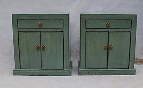 Armadio Antico Laccato : Comodino cinese mobili comodino piccolo armadio mentaverde antico