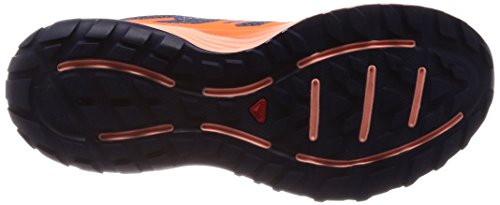 para Sense W orange bleu Trail Running de nuit Zapatillas Escape Mujer corail Salomon Udq0d