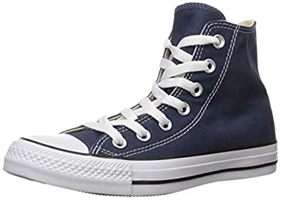 Converse Women's Chuck Taylor All Star Classic Hi Trainers US5 Blue
