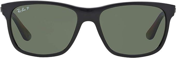 Ray-Ban Negro polarizado verde clásico del G-15 de 57 mm RB4181 gafas de sol Wayfarer: Amazon.es: Ropa y accesorios