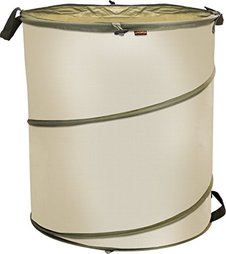 Gardening Bag – 30 Gallon – Hamper – Reusable, Collapsible and Portable Gardening Waste Bag – by Utopia Home