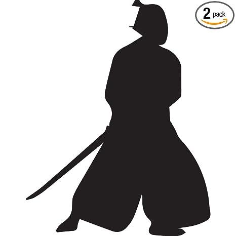 Amazon.com: Samurai Silhouette Warrior Ninja clipart 2 ...