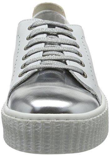 Weiß FS161211 Femme White Blanc Laufsteg München Silver Baskets 5gxqS7X7