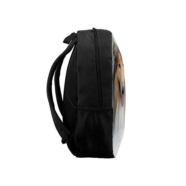 Backpack,School Bag,Travel Daypack,Gift,Scotch Collie Rough Collie Shetland Sheepdog 3
