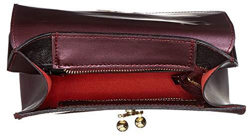 bordo Rosso Borse 8827 Donna Spalla A Chicca Borsa 0418wpRpq