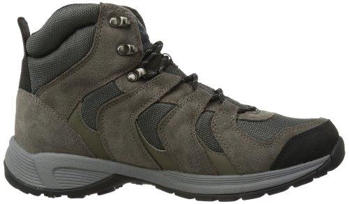 Timberland Fleettrail Mid Gtx D Dark Brown, Scarpe da escursionismo Uomo Marrone (Braun (Dark Brown))