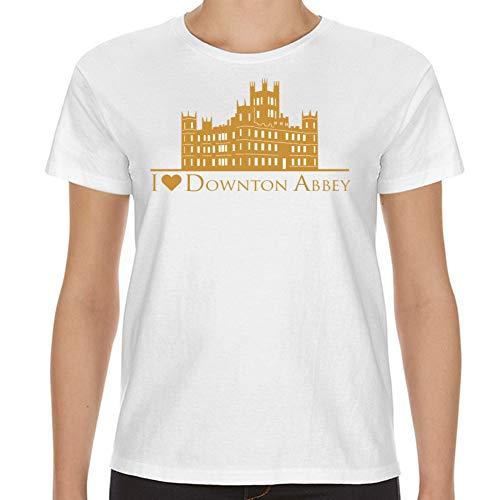 I Love Downton Abbey Womens White Shirt