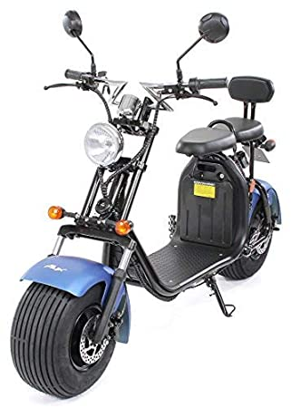 PEQUENENES Patinete Scooter EFLUX Harley 1500 W 60 V 20AH ...
