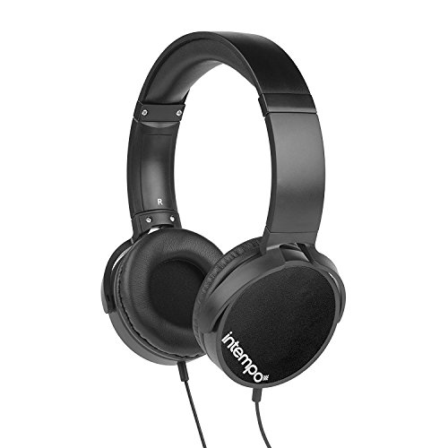 Click to buy Intempo Ee1264 Dynamic Headphones, Black - From only $32.52