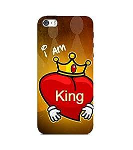 PrintVisa Designer Back Case Cover for Apple iPhone 5 (Dreamers Quote)