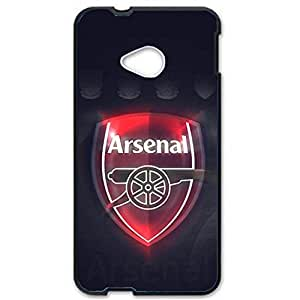 Arsenal Football Club Logo Design 3D Hard Plastic Case Cover For Htc One M7