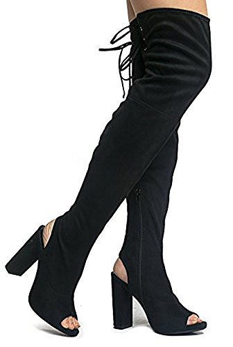 05be03fb5ed0 We Analyzed 953 Reviews To Find THE BEST Knee High Boots Peep Toe