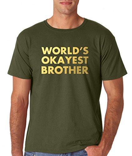 Daataadirect - Camiseta - Hombre verde (Military Green)