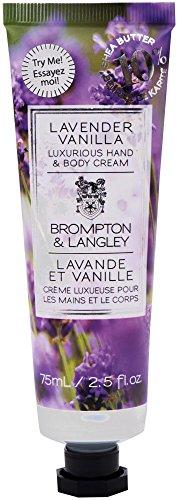 Brompton & Langley Body Cream, Lavender Vanilla