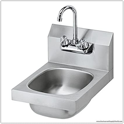 Amazoncom 12 Inch Commercial Stainless Steel Hand Sink Complete