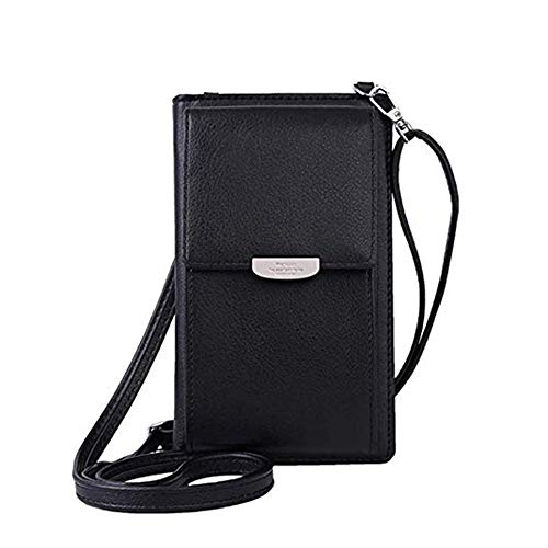 Mobile Phone Case Bag - Kukoo Small Crossbody Bag Cell Phone Purse Wallet with Credit Card Slots for Women