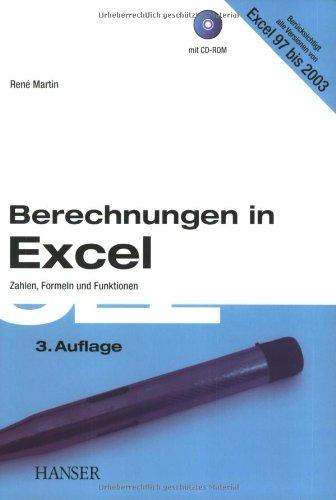 Berechnungen in Excel: Zahlen, Formeln und Funktionen