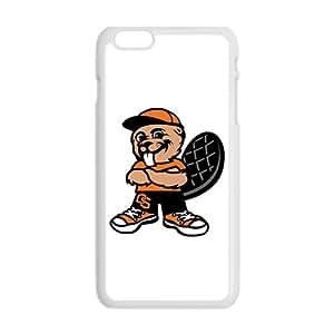 NCAA Oregon State Beavers Mascot 2007 White Phone Case for iPhone 6plus