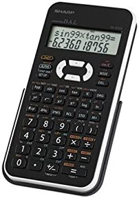 Sharp EL531XBWH Scientific Calculator with 2 Line Display