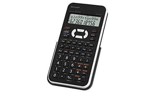 Sharp EL531XBWH Scientific Calculator with 2 Line Display by Sharp (Image #2)