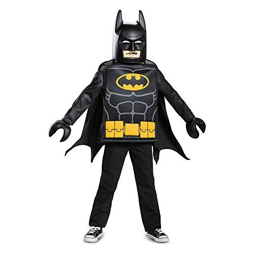 Disguise Batman Lego Movie Classic Costume, Black, Medium -
