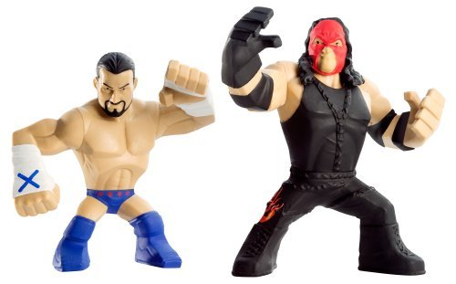 WWE Rumblers CM Punk and Kane Action Figure 2-Pack