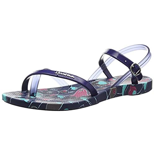 Ipanema Fashion Sand. III Fem, Chanclas, Mujer, Multicolor (Blue 8040), 38