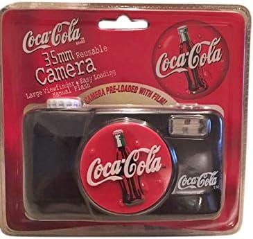 1999 Coca Cola 35mm Reusable Camera Preloaded Film NEW