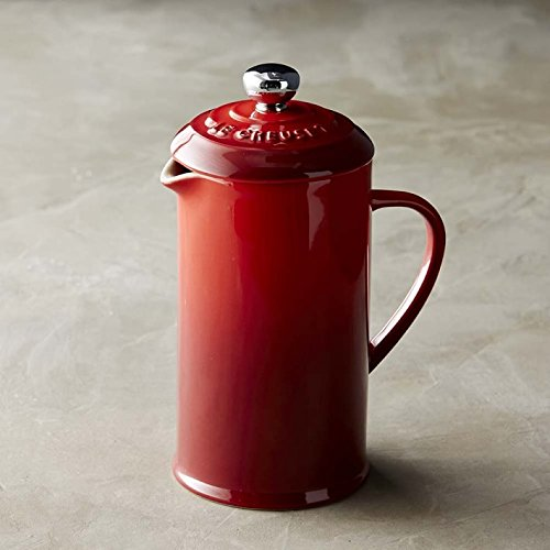 Le Creuset Single-Serve French Press by Le Creuset Single-Serve French Press