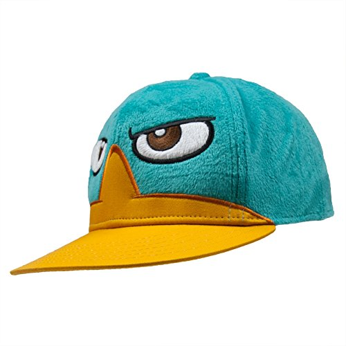 Old Glory Phineas & Ferb - Perry Face Flatbill Fitted Cap