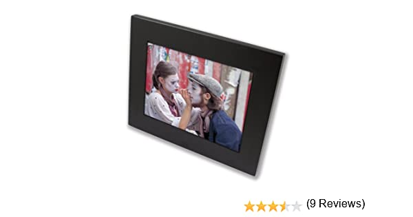 amazoncom ziga df810 zus 8 inch high resolution digital frame with exchangeable black wooden frame digital picture frames camera photo